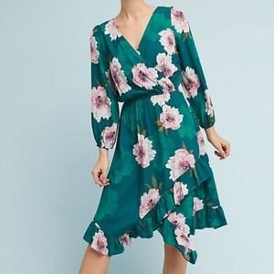 Anthropologie Tracy Reese Aleah Floral Dress ***